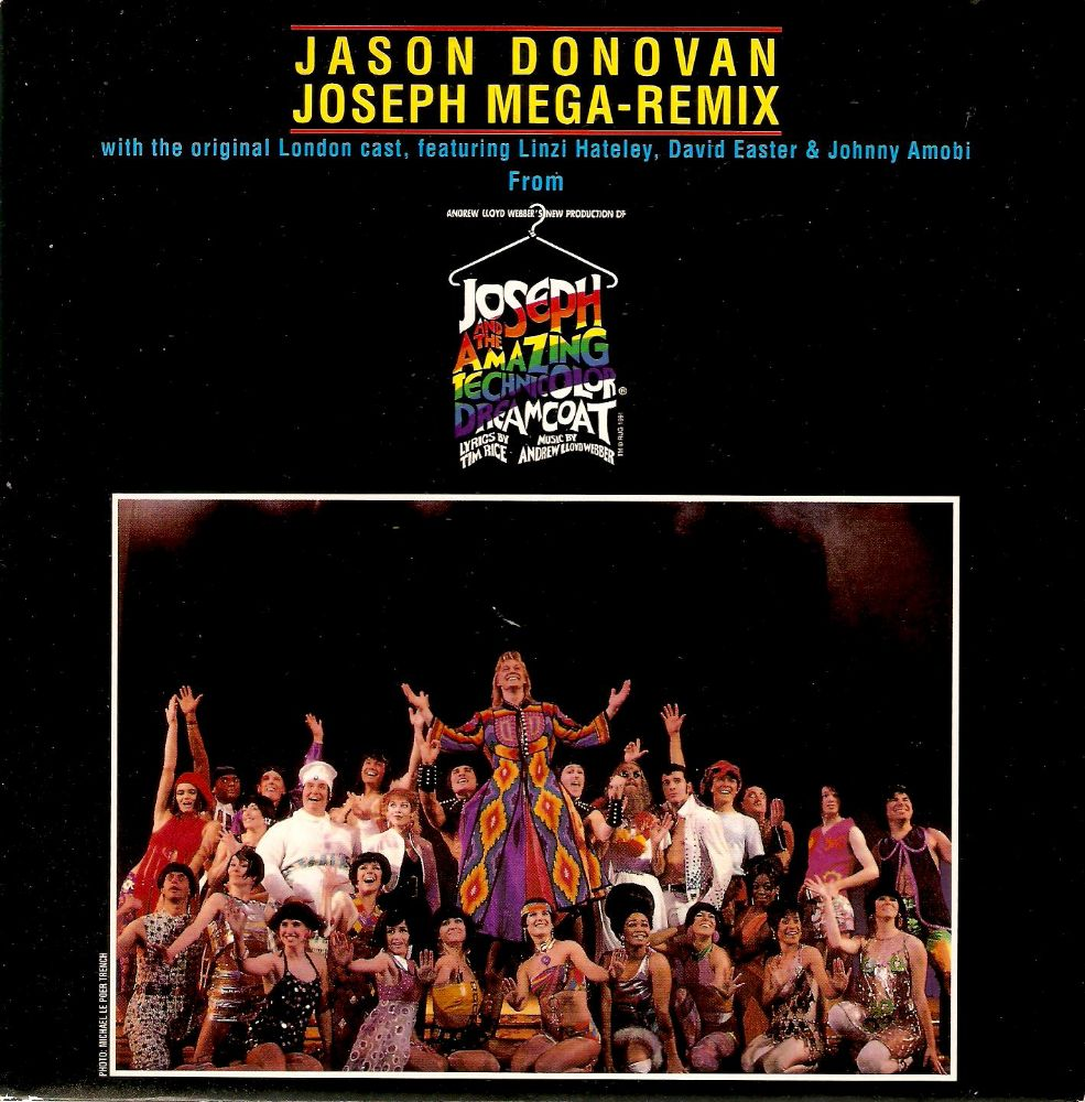 JASON DONOVAN Joseph Mega-Remix Vinyl Record 7 Inch Really Useful 1991